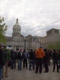 Geraldo Rivera em Baltimore Imagem de Stock