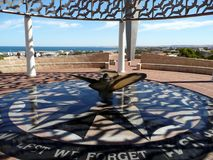 Geraldton, Australia occidental 1 de noviembre de 2007: Monumento de HMAS Sydney II Foto de archivo