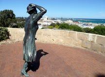 Geraldton, Westelijk 1 Australië-November, 2007: Oorlogsgedenkteken in Geraldton Stock Foto's