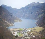 Geranger, fjord norvégien Photographie stock libre de droits