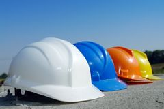 Gerarchia della costruzione Immagine Stock