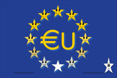 Gerarchia europea Fotografie Stock