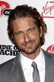 Gerard Butler. LOS ANGELES - SEPT 21:  Gerard Butler arriving at the 'Machine Gun Preacher' Los Angeles Premiere at Academy of Motion Pictures Arts & Sciences on Royalty Free Stock Image