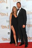 Gerard Butler,Jennifer Aniston Royalty Free Stock Photo