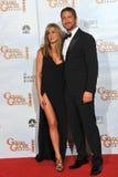 Gerard Butler, Jennifer Aniston lizenzfreies stockfoto