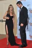 Gerard Butler,Jennifer Aniston Royalty Free Stock Images