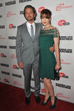 Gerard Butler, Michelle Monaghan Stock Images