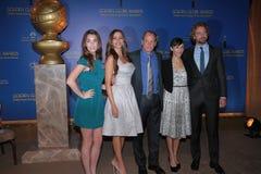 Gerard Butler, Rashida Jones, Woody Harrelson, Rainey Qualley, Sofia Vergara Stock Image