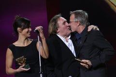 Gerard Depardieu and Cristopher Lambert, Sophie M Stock Photography