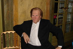 Gerard Depardieu no Musée Grevin Fotografia de Stock Royalty Free