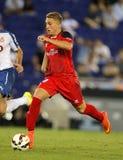 Gerard Deulofeu van Sevilla FC Royalty-vrije Stock Afbeeldingen