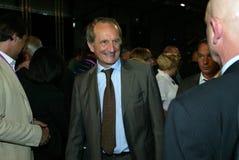 Gerard Longuet van de Franse minister Stock Afbeelding