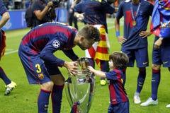 Gerard Piqué FC Barcelone Lizenzfreie Stockfotografie