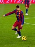 Gerard Piqué (FC Barcelona) Fotografía de archivo