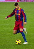 Gerard Piqué (FC Barcelona) fotografía de archivo libre de regalías