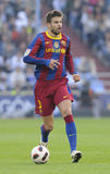 Gerard Pique. Playing with FC Barcelona Stock Image