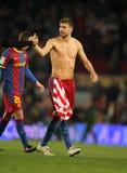 Gerard Pique of Barcelona Stock Photo