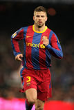 Gerard Pique of Barcelona Royalty Free Stock Photo