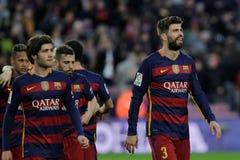 Gerard Pique of FC Barcelona Royalty Free Stock Photo