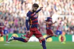 Gerard Pique of FC Barcelona Stock Photography