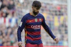 Gerard Pique of FC Barcelona Royalty Free Stock Photos