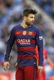 Gerard Pique of FC Barcelona Royalty Free Stock Image