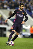 Gerard Pique of FC Barcelona Royalty Free Stock Photography