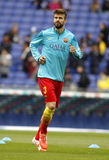 Gerard Pique of FC Barcelona Royalty Free Stock Photos