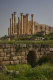 Gerasa ruins, Jerash, Jordan. Jerash is the site of the ruins of the Greco-Roman city of Gerasa Stock Photography