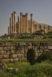 Gerasa ruins, Jerash, Jordan Stock Photography