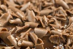 Geraspte chocolade Royalty-vrije Stock Foto's
