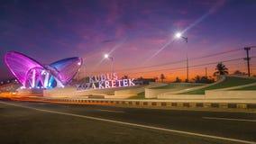 Gerbang Kudus Kota Kretek - Gate royalty free stock photos