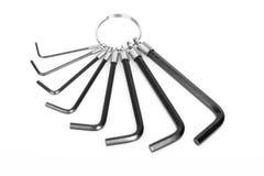 Gerbe de clés machine Photo stock