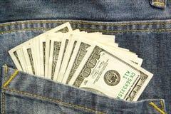 Gerbe de dollars Image libre de droits