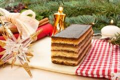 Gerbeaud traditional Hungarian cake 1 Stock Photo