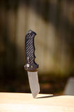Gerber S30V Combat Fixed Blade Knife Stock Photo
