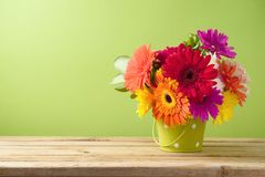 Gerbera daisy flower boquet Royalty Free Stock Photos