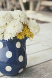 Gerbera flowers with vase Stock Photo