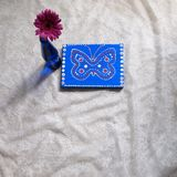 Gerbera púrpura Foto de archivo libre de regalías