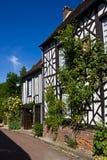 Gerberoy - casa enmarcada de la madera fotos de archivo libres de regalías