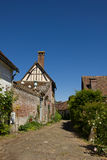 Gerberoy - charming french village Royalty Free Stock Photo