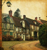 Gerberoy, northern France. Royalty Free Stock Images