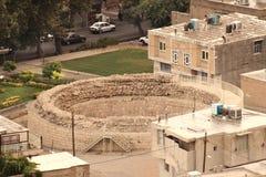 Gerdab-e-Sangi en la ciudad de Khorramabad (Irán) Imágenes de archivo libres de regalías