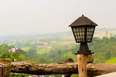 Gerdening lamp Royalty Free Stock Image