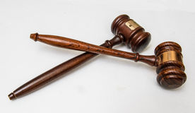 Gerechtelijke hamer voor wetspraktijk Stock Afbeeldingen