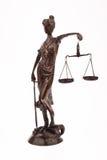 Gerechtigkeit als Symbol Lizenzfreies Stockbild
