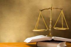 Gerechtigkeit der Skala Lizenzfreies Stockbild