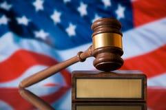 Gerechtigkeit-Hammer Lizenzfreie Stockbilder