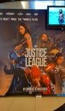 Gerechtigkeit League Movie Poster lizenzfreies stockbild