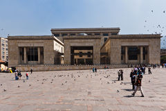 Gerechtigkeit-Palast Bogota Kolumbien Stockfotografie